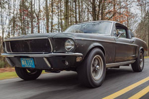 "Original ""Bullitt"" 1968 Mustang Heading To Auction"