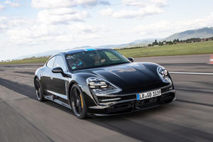 Porsche Taycan Already Embarrassing Tesla Model S
