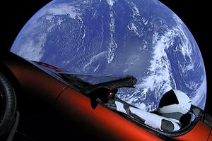 Tesla Roadster Publicity Stunt Is 186 Million Miles Away From Earth