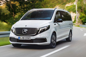 New Mercedes EQV Is The Cool Van Tesla Doesn't Have