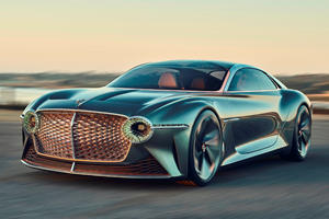 Stunning EXP 100 GT Concept Is How Bentley Parties In America