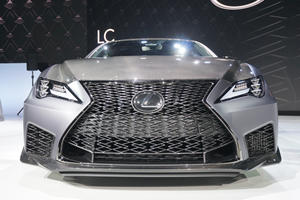 Lexus Wild Grille Design Plays Another Vital Role
