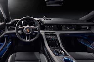 Porsche Taycan's High-Tech Cabin Is Stunning