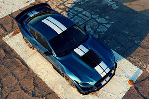 Ford Mustang Shelby GT500's Painted Stripes Will Give You Sticker Shock