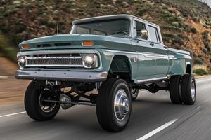 Badass Chevy Truck Restomod Defies One Major Element