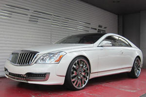 Coupe-Converted Maybach with Outlandish Office-K Style