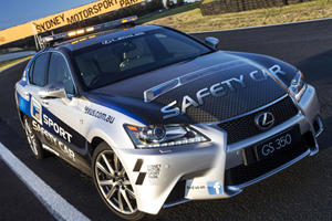 Lexus Reveals GS 350 F Sport Safety Car