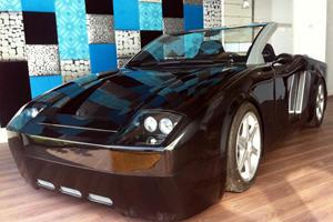 Bikkel Turns VW Beetle into DeLuca Roadster