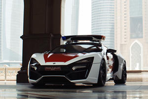 How To Make A Lykan Hypersport Into A Badass Robocop Car
