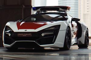 $3.4-Million Hypercar Joins Abu Dhabi Police Force
