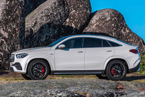 2021 Mercedes-AMG GLE 53 Coupe Arrives With 429 Hybrid Horsepower