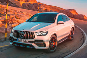 2021 Mercedes-AMG GLE 53 Coupe First Look Review: Hybrids Don't Have To Be Boring