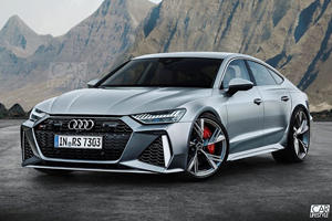Would You Be Happy If The New Audi RS7 Looks Like This?