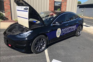 Indiana Cops Ditch Dodge Chargers For Tesla Model 3s