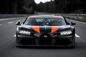 BREAKING: Bugatti Chiron Breaks 300-MPH Speed Record