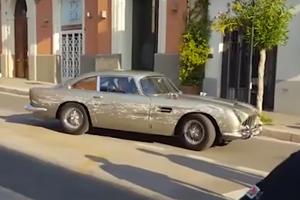 Aston Martin DB5 Takes Serious Beating For Very Good Reason
