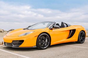 This Low-Mileage McLaren 12C Spider Could Be A Killer Bargain