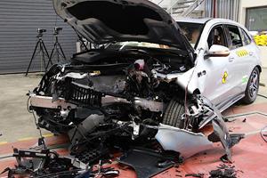 Mercedes' New EV Won't Let You Down In A Crash