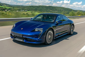 Porsche Taycan Hits The Streets For The First Time