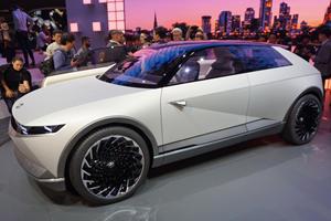 Hyundai 45 Concept Takes A Different Angle On Retro Design