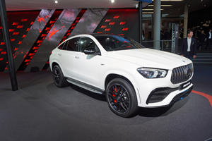Mercedes Gunning For BMW With The GLE 53 Coupe