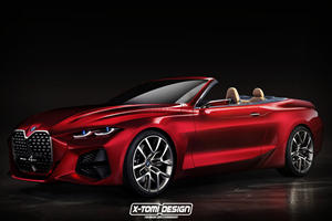 Does The BMW Concept 4 Look Better As A Convertible?