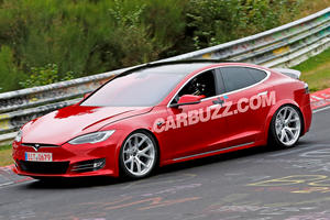 Modified Tesla Model S Prepares To Attack The Nurburgring
