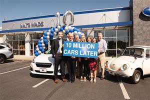 Subaru Hits A Major Milestone