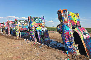 Iconic Cadillac Ranch Is The Victim Of Mysterious Arson