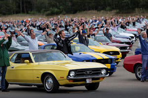 Ford's Massive Mustang Party Didn't Happen In America