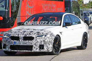 First Look At Upcoming BMW M5 Facelift