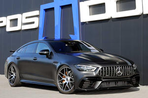 Modified Mercedes-AMG GT 63 S Is An 880-HP Super Sedan