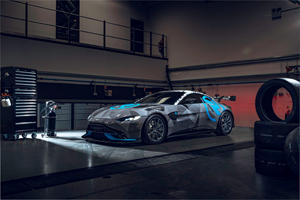Aston Martin's New Vantage Race Car Is A Total Jaw-Dropper