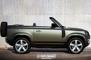 Is Land Rover Crazy Enough To Build A Defender Convertible?