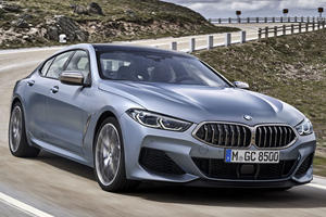 BMW 8 Series Gran Coupe Goes On A Diet With Carbon Fiber Roof
