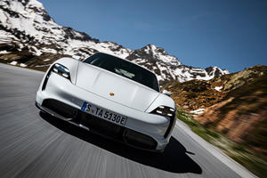 Porsche Taycan Engine Noise Option Price Is Jaw-Dropping