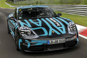 Porsche Could Be Trolling Tesla At The Nurburgring