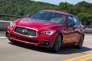 The Most Affordable 2020 Infiniti Q50 Has Been Axed