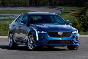 2020 Cadillac CT4-V First Look Review: Bring On The Germans