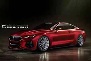BMW 4 Series Concept Gets A Nose Job