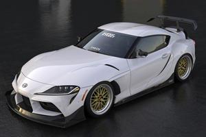 2020 Toyota GR Supra Tries On A Wild Widebody Kit