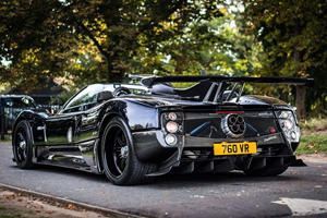 Pagani Zonda Makes History With 20th Birthday Celebration
