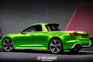 Audi RS6 Pick Up Truck Is Complete Madness