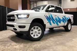 Throwback 2019 Ram 1500 Livery Is Backed By Comedy Genius