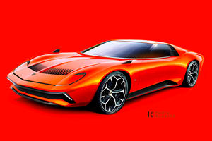 Lamborghini Miura Redesigned For The 21st Century