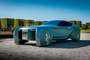 Rolls-Royce Phantom Of The Future Returns Home
