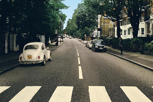 VW Fixes The Beatles Abbey Road Album Cover