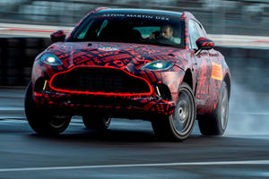 Aston Martin DBX Will Boast Most Powerful V8 In Lineup
