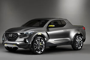 Hyundai's New 'Pavise' Pickup Will Give The Ford Ranger Trouble