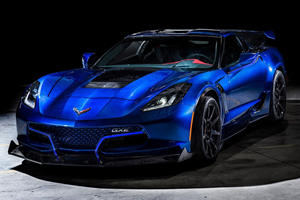 800-HP Electric Corvette Sets New Top Speed Record